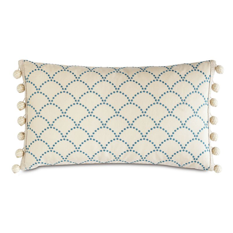 Badu Brooklyn Lapis Throw Pillow