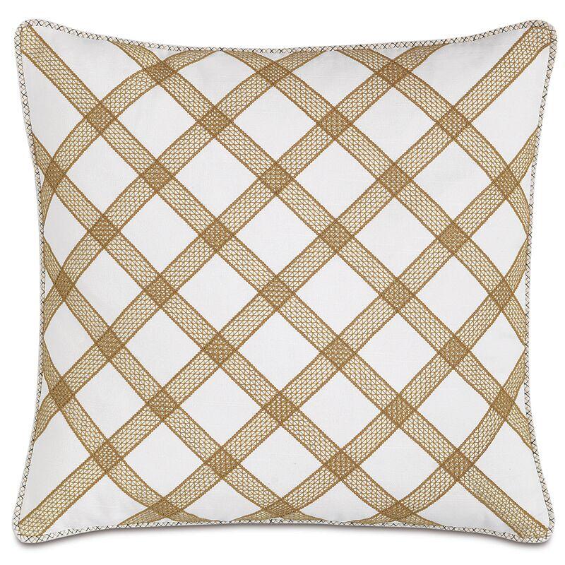 Lanai Baldwin Trellis Throw Pillow