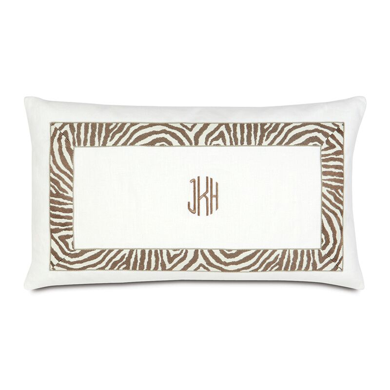 Lucky Stripes Madison Autumn Lumbar Pillow