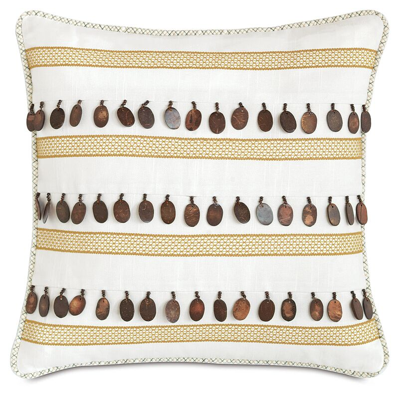 Lanai Baldwin Throw Pillow
