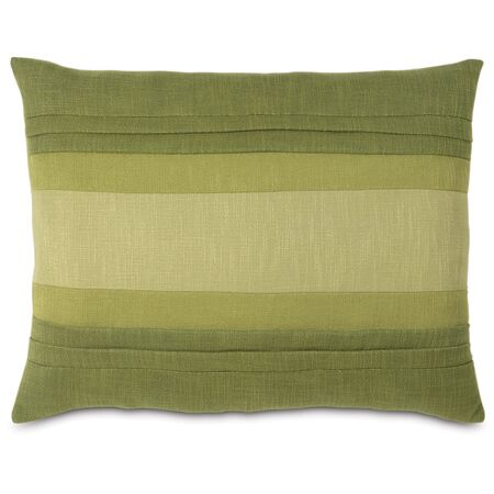 Mondrian Haberdash Lumbar Pillow Size: King, Color: Leaf