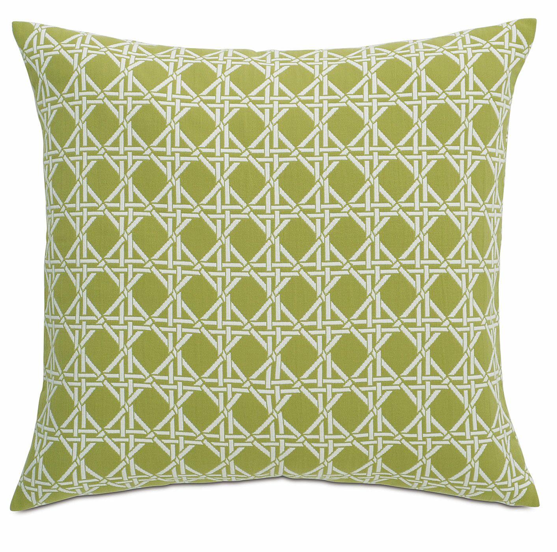 Lavinia Larkin Sham Color: Palm, Size: Standard