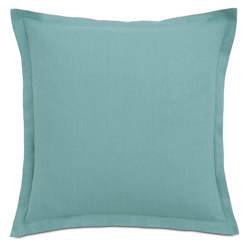 Lavinia Sham Size: Euro, Color: Aqua