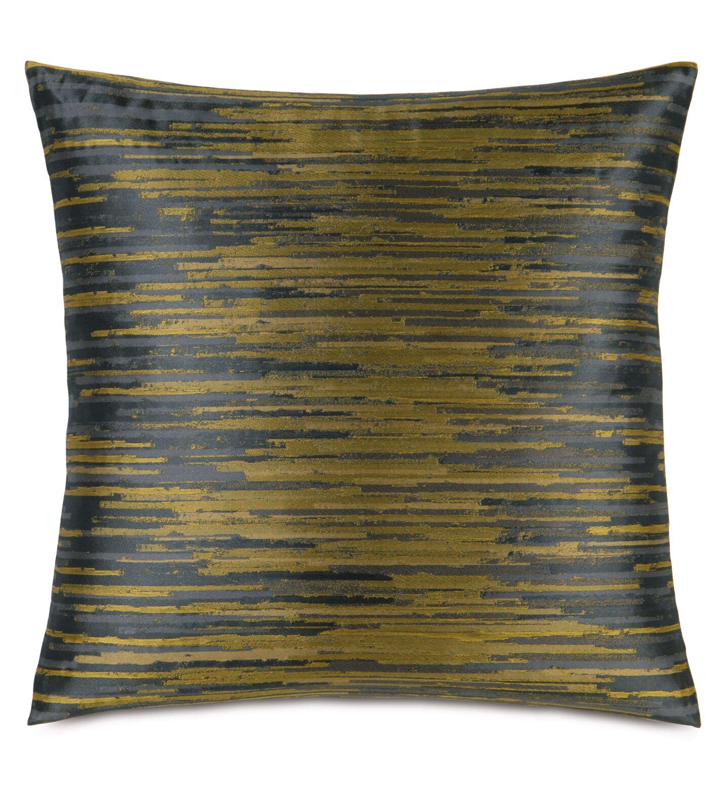 Pierce Horta Throw Pillow Color: Olive