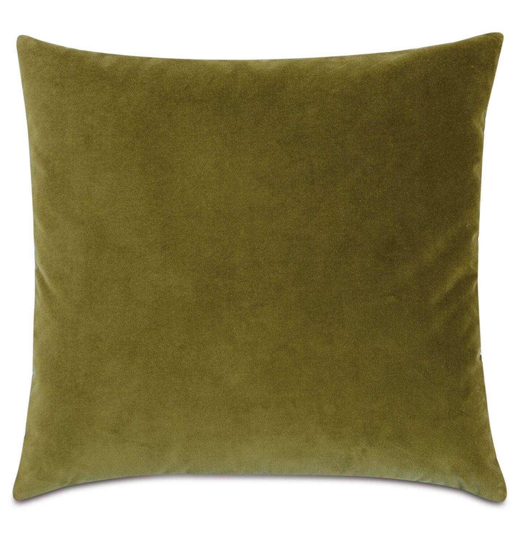 Plush Throw Pillow Color: Citron