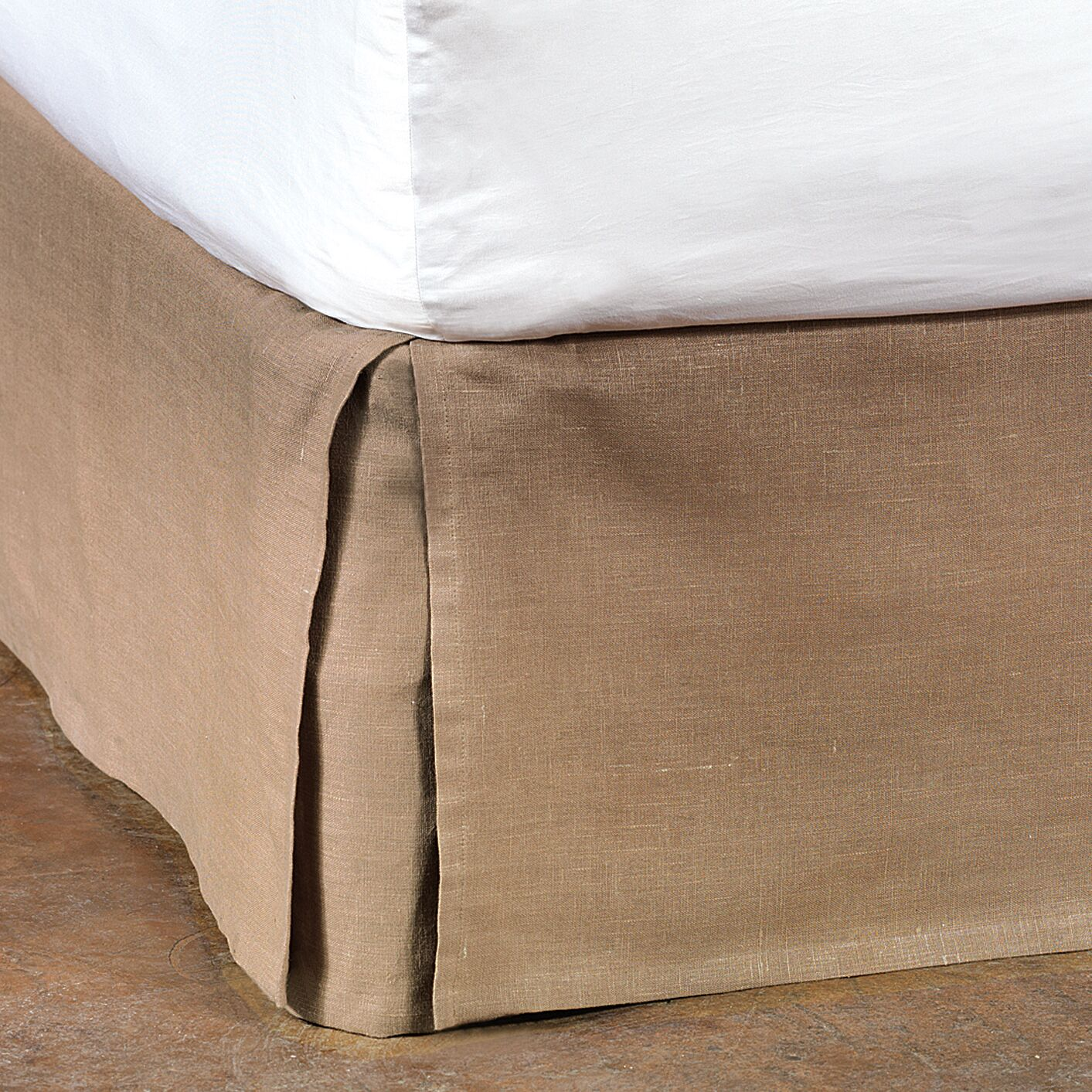 Astaire Breeze Bed Skirt Size: Queen