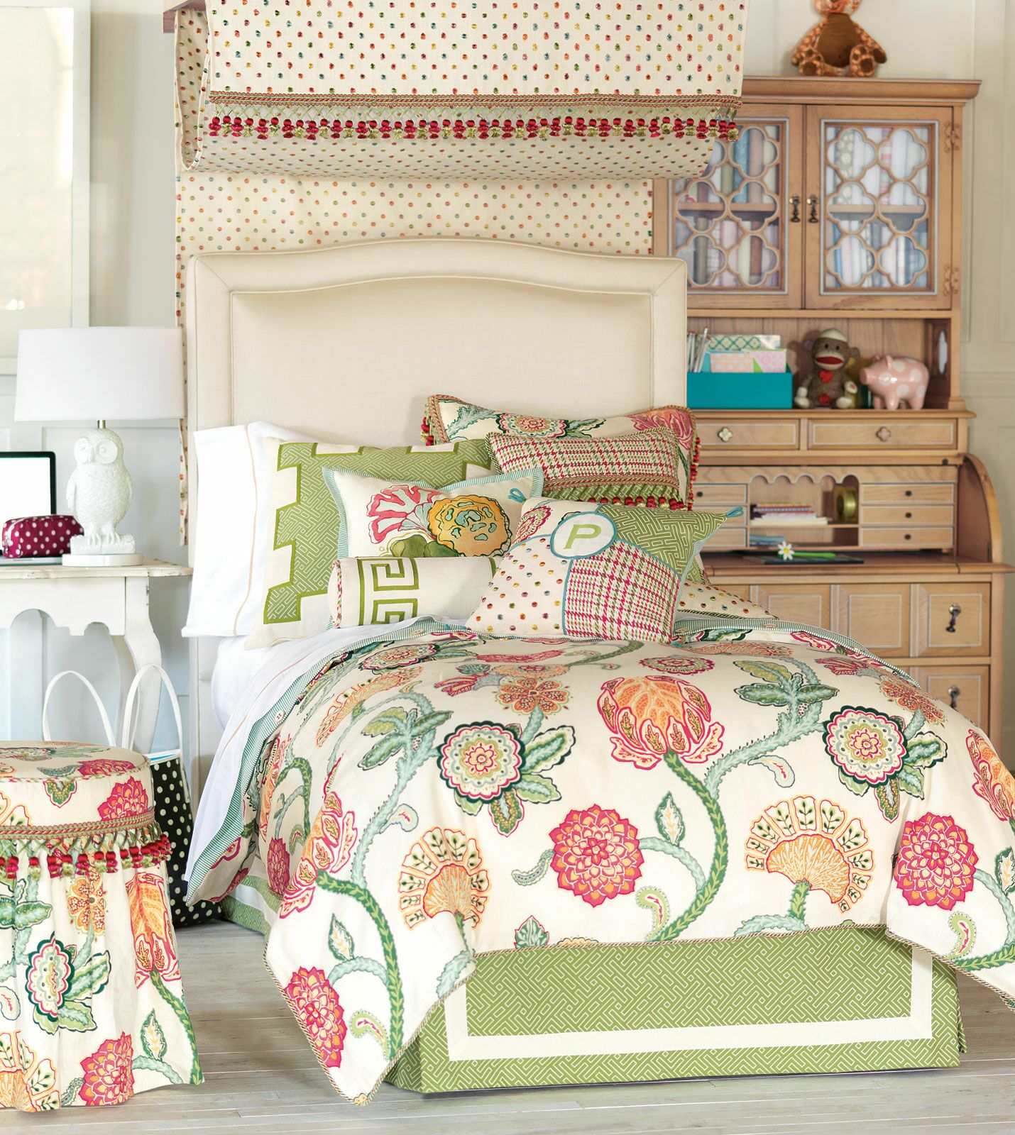 Portia Bed Skirt Size: King
