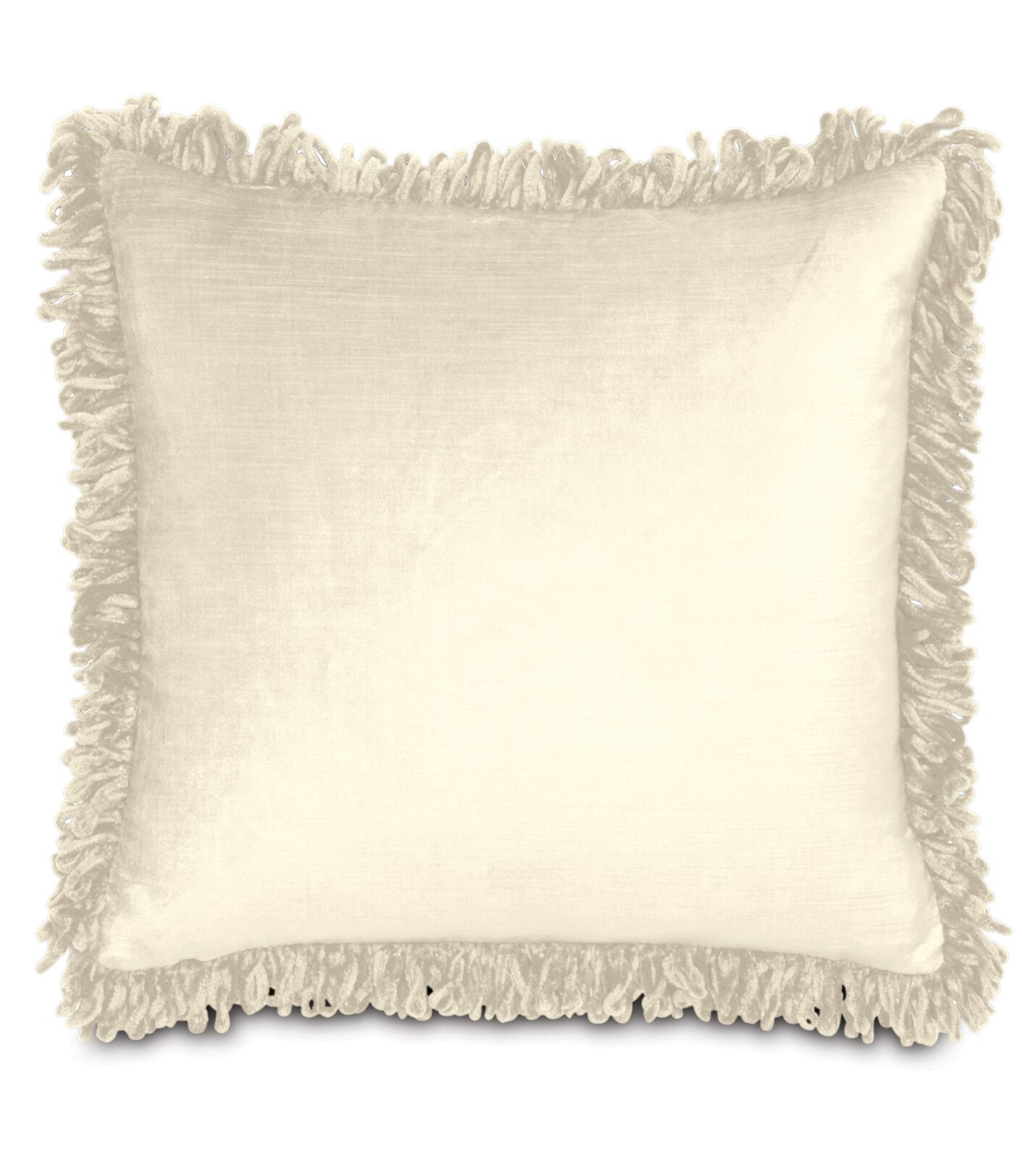 Lucerne Cotton Throw Pillow Color: Ivory