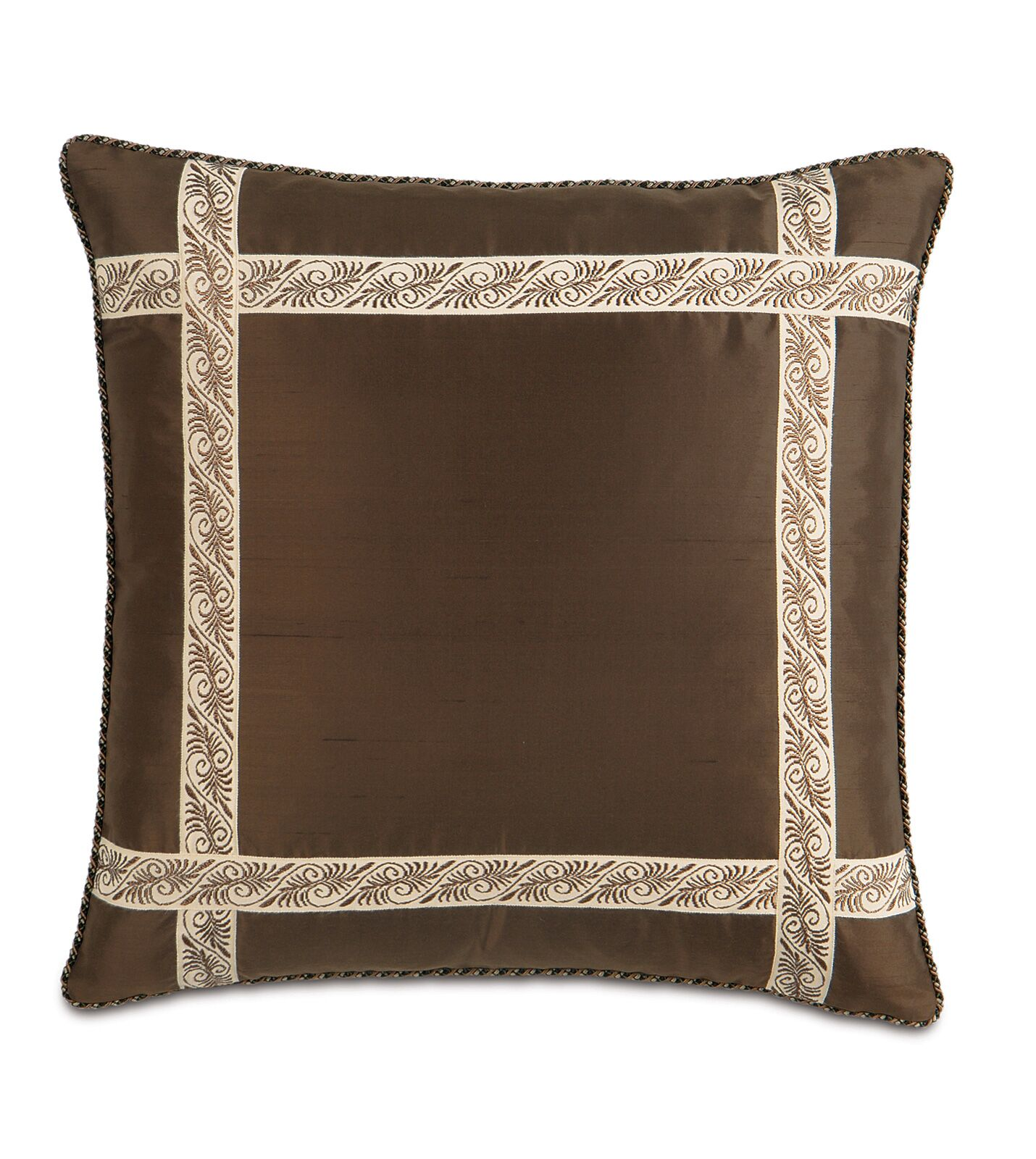 Michon Serico Silk Throw Pillow
