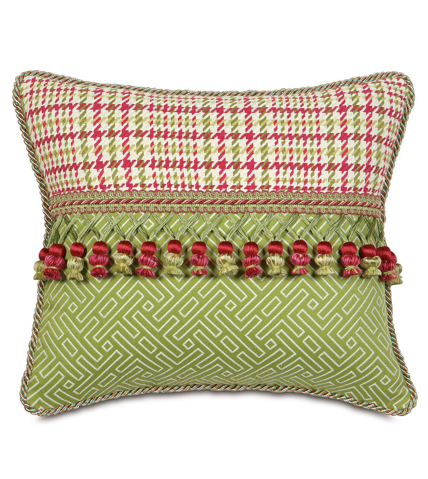 Portia Blight Rose Envelope Lumbar Pillow