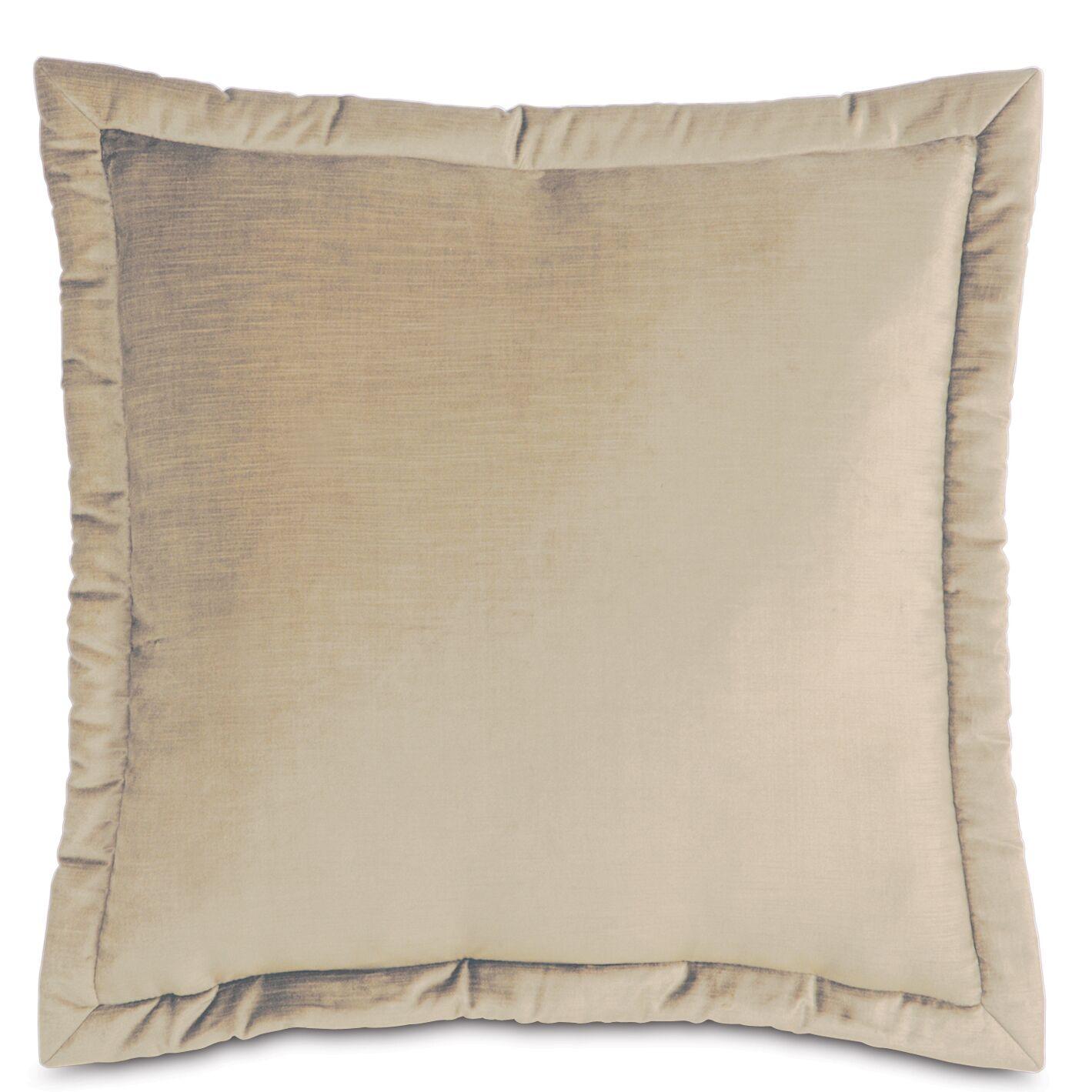 Lucerne Velvet Throw Pillow Size: 20
