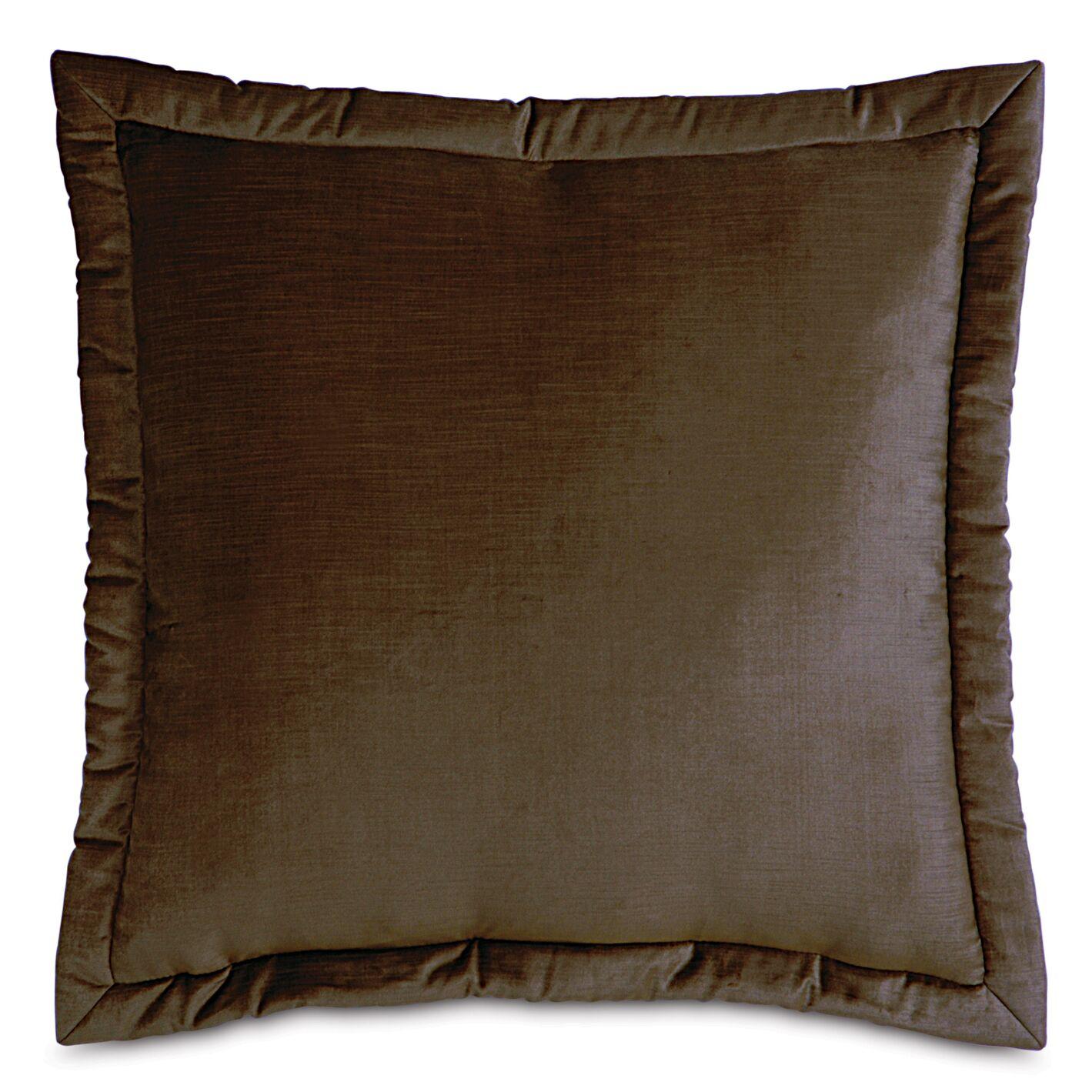 Lucerne Velvet Throw Pillow Size: 27