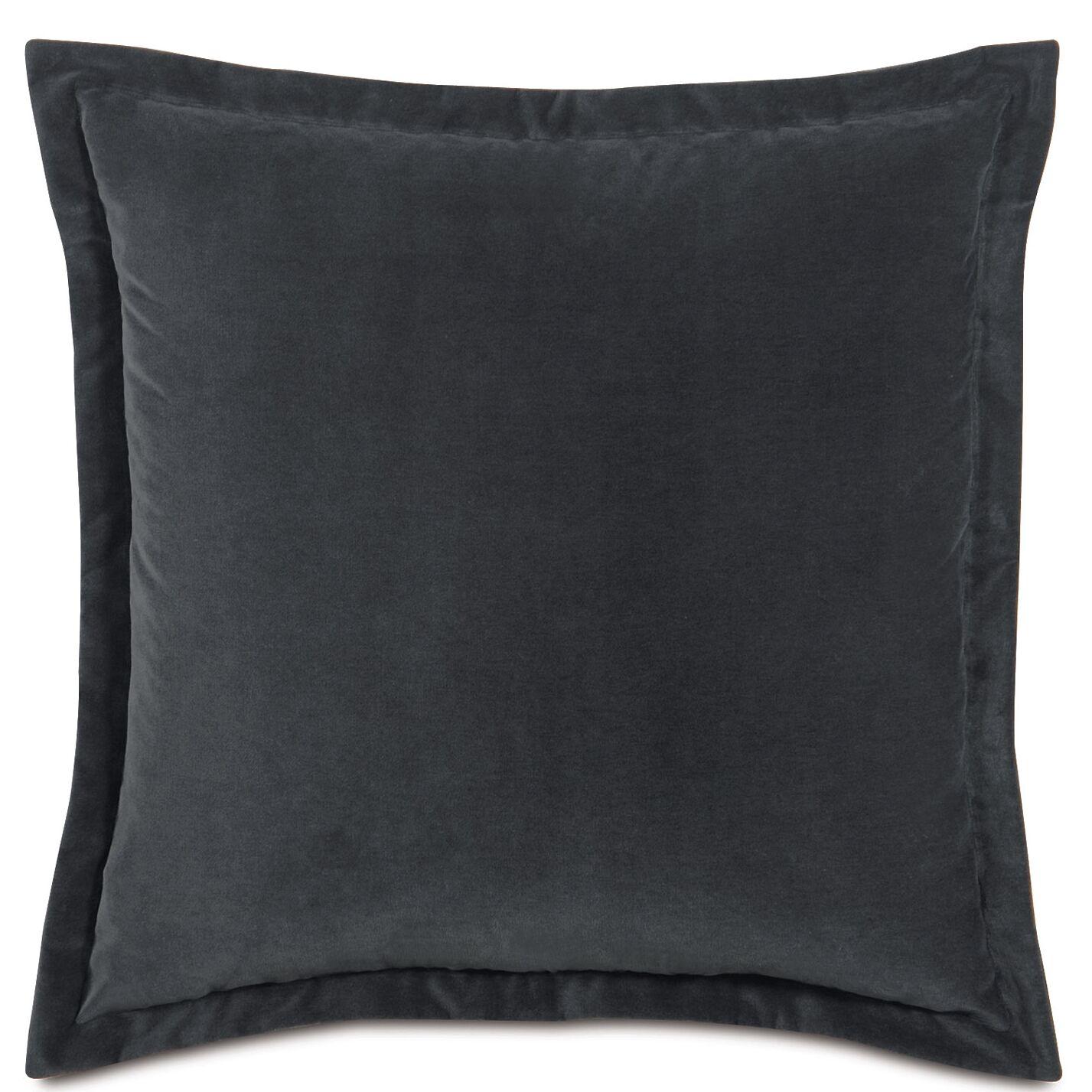 Jackson Sham Size: Standard, Color: Charcoal