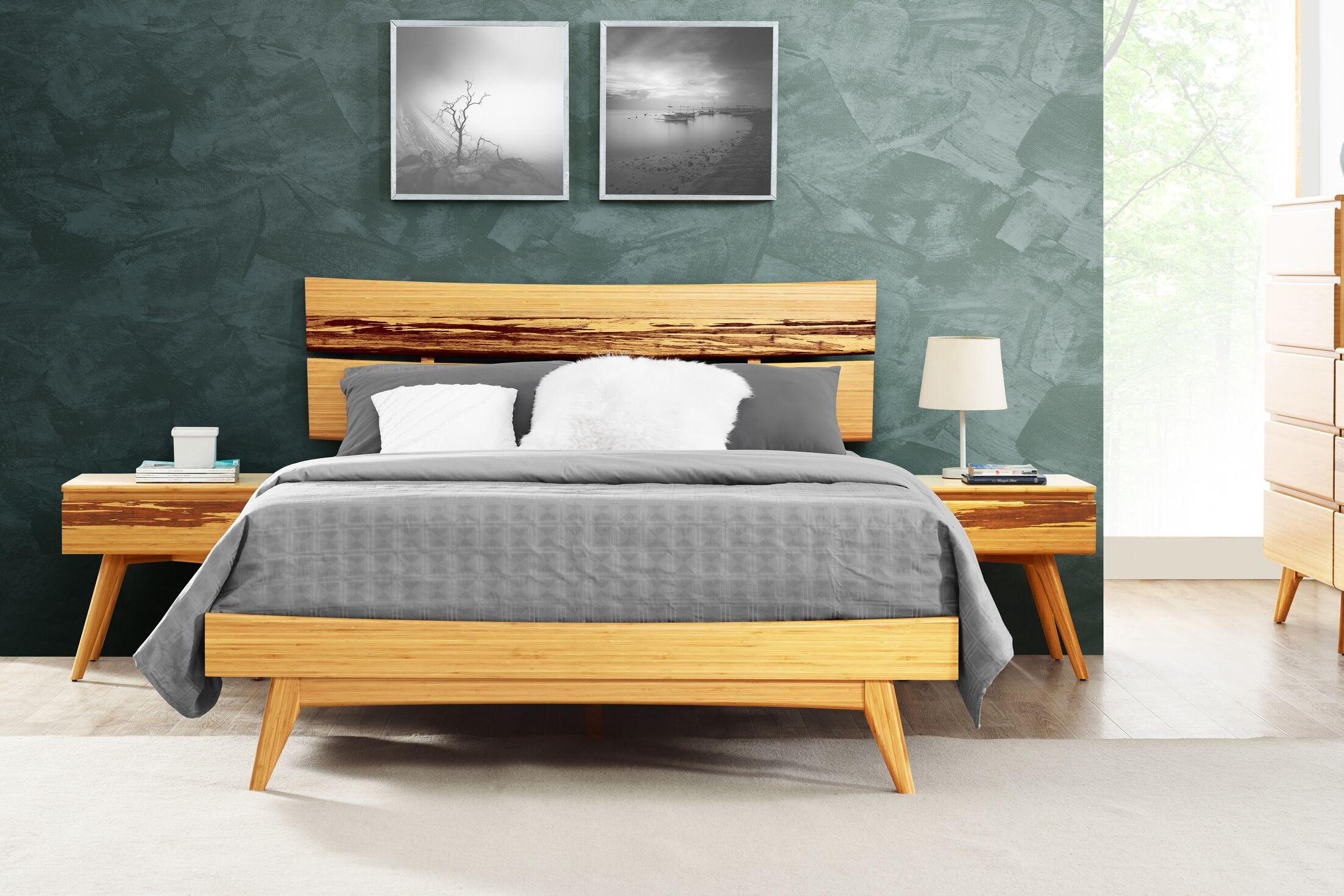 Azara Platform Bed Size: Queen