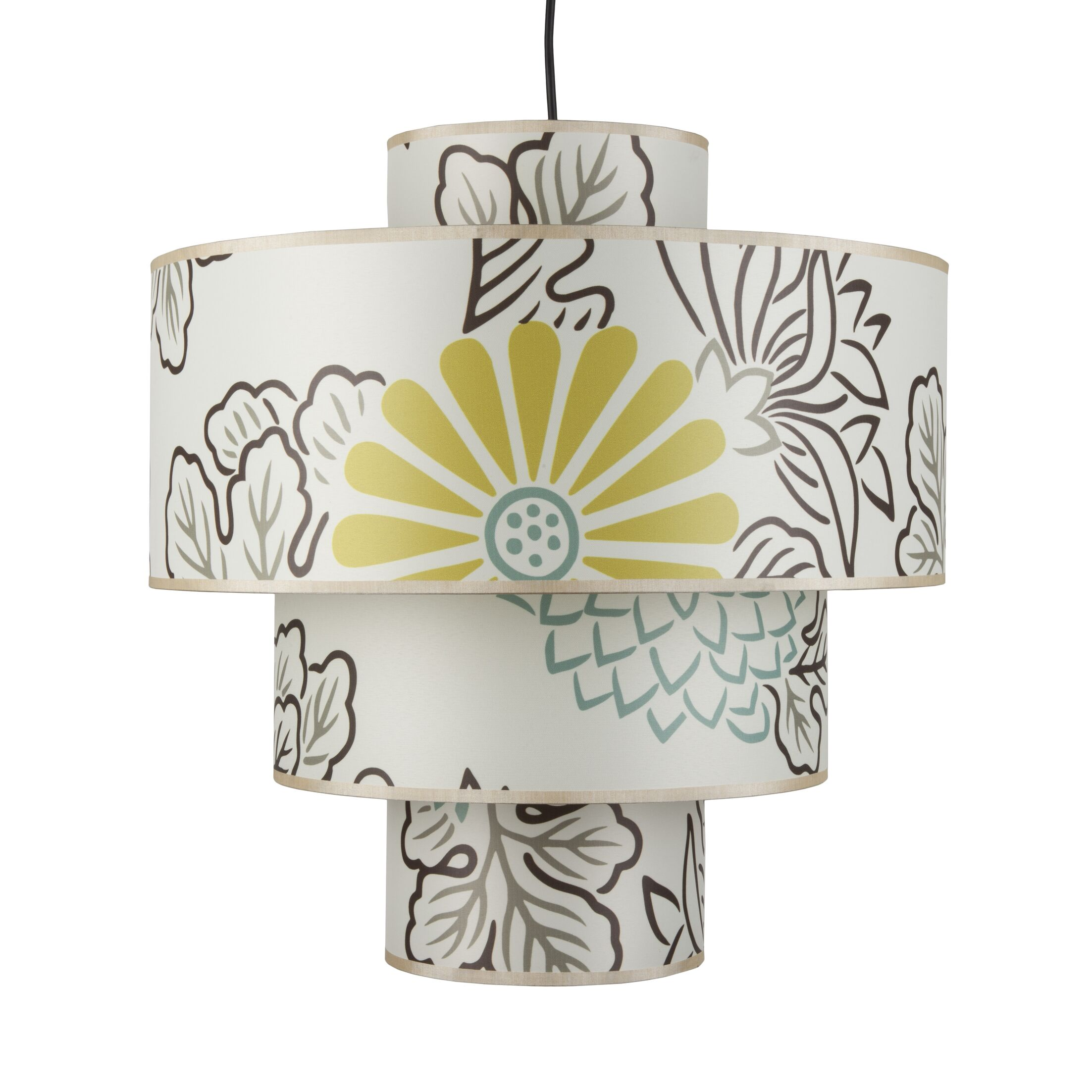 Deco 1-Light Pendant Shade: Kimono