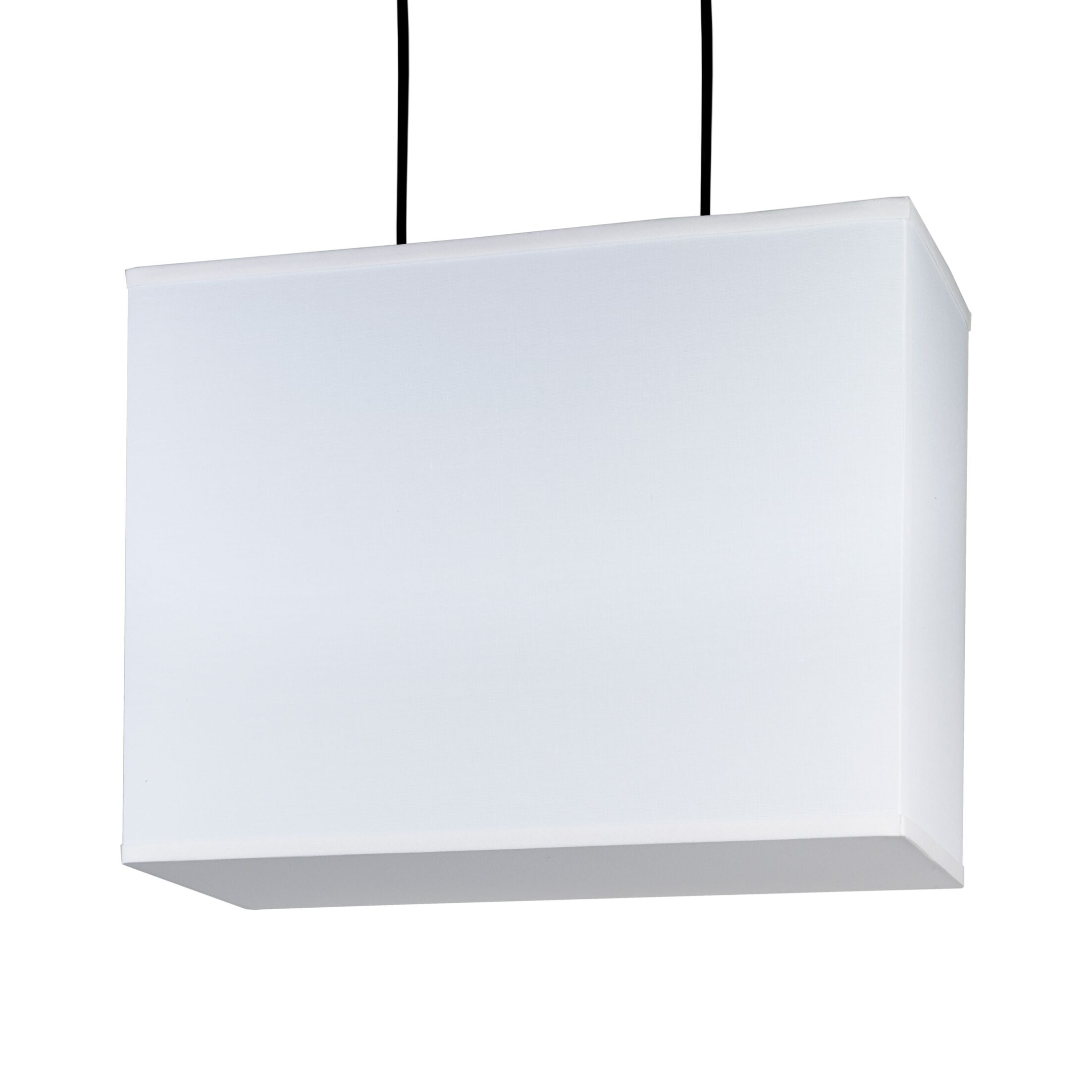 Rex 2-Light Square/Rectangle Chandelier Shade Color: Natural Linen