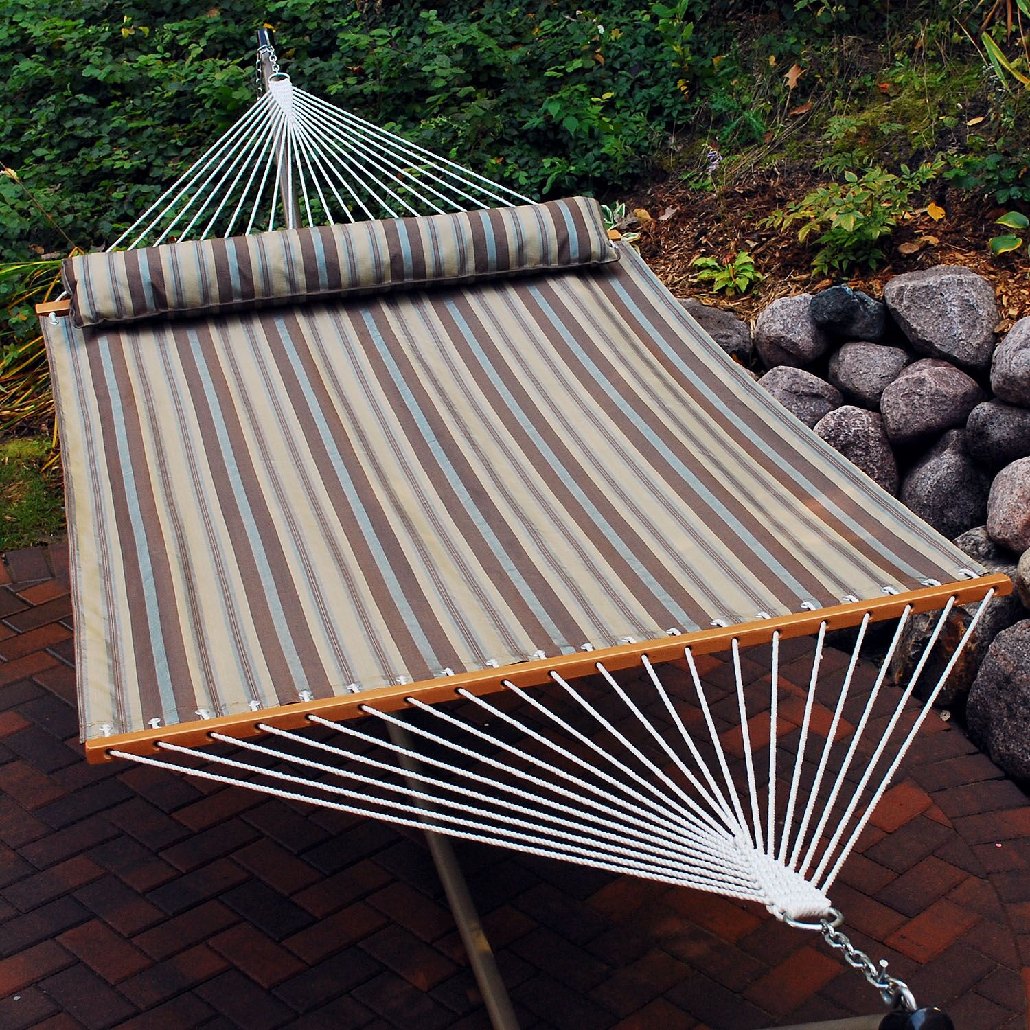 Changir Quick Dry Polyester Tree Hammock Color: Earth