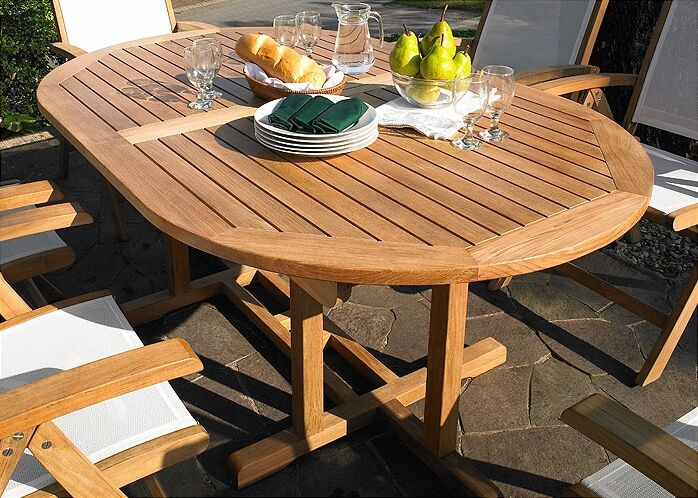 Camden Extendable Teak Dining Table