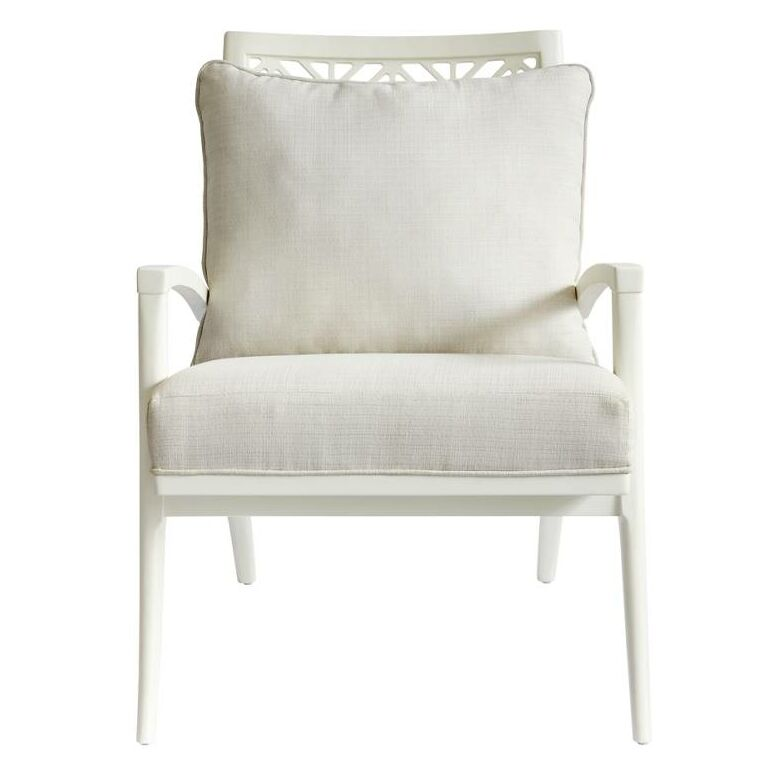 Oasis Catalina Armchair Finish: Saltbox White