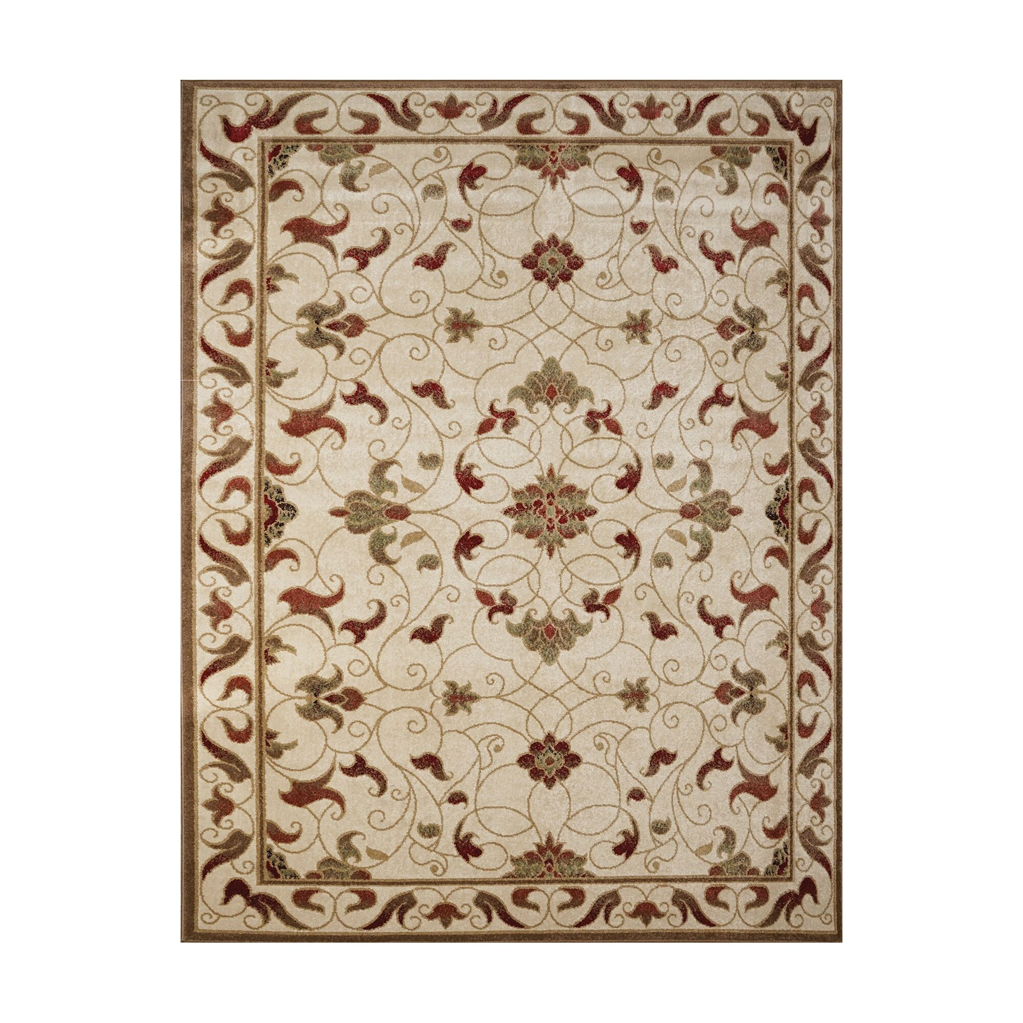 Mildred Ivory Indoor/Outdoor Area Rug Rug Size: Rectangle 7'10