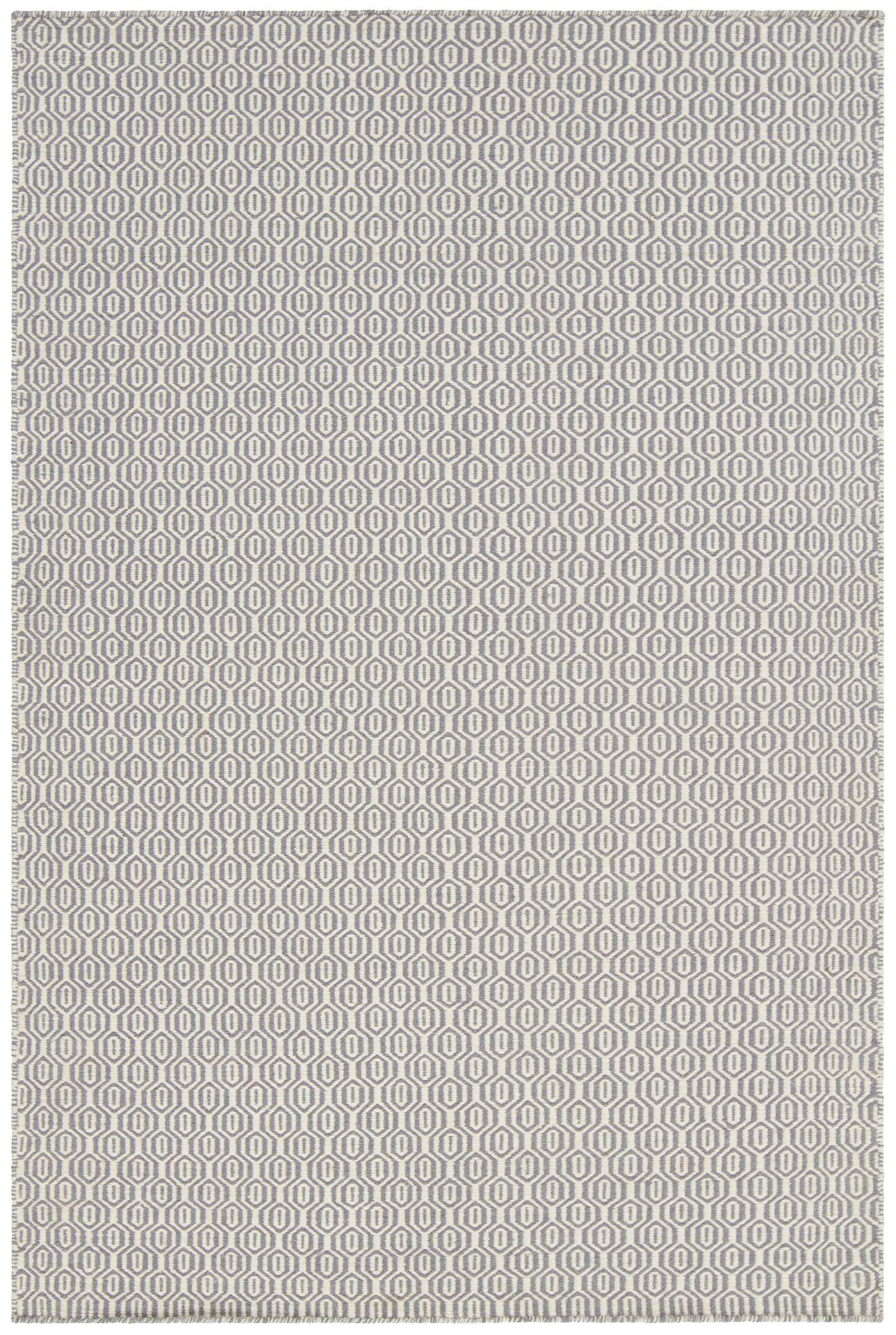 Kerri Gray Area Rug Rug Size: 7'9