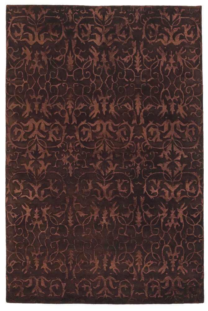 Whetstone Brown Area Rug Rug Size: 5' x 7'6