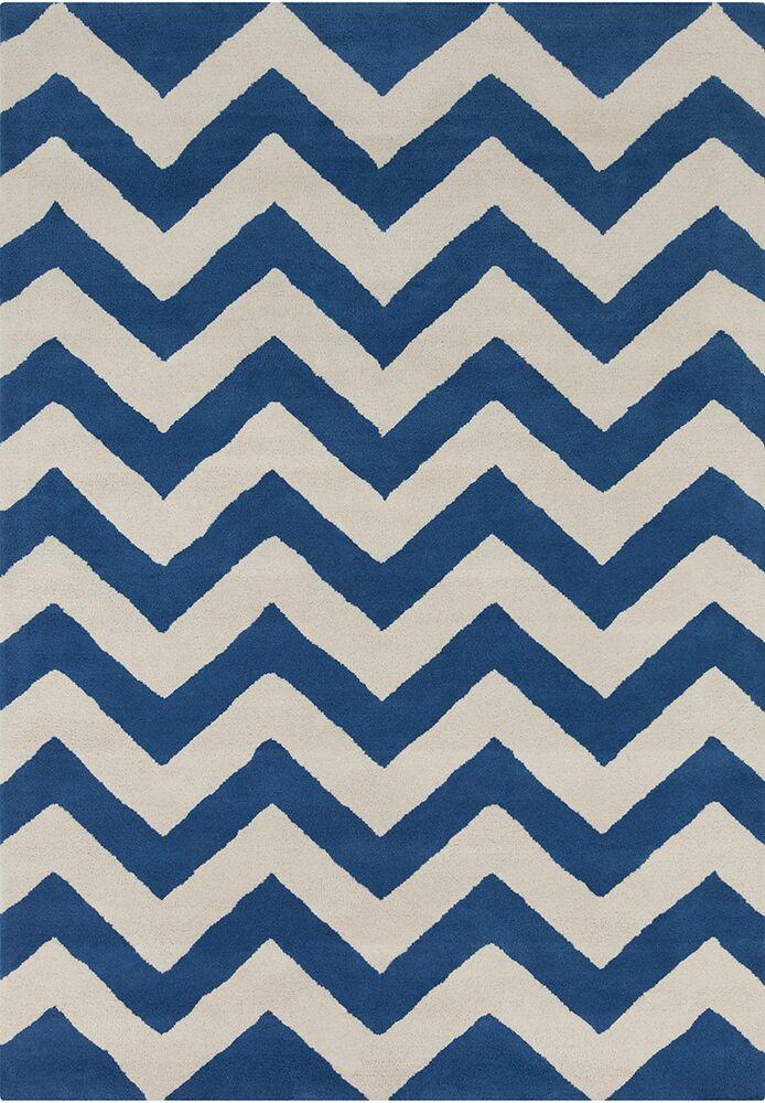 Steward Chevron Wool Rug Rug Size: 5' x 7'