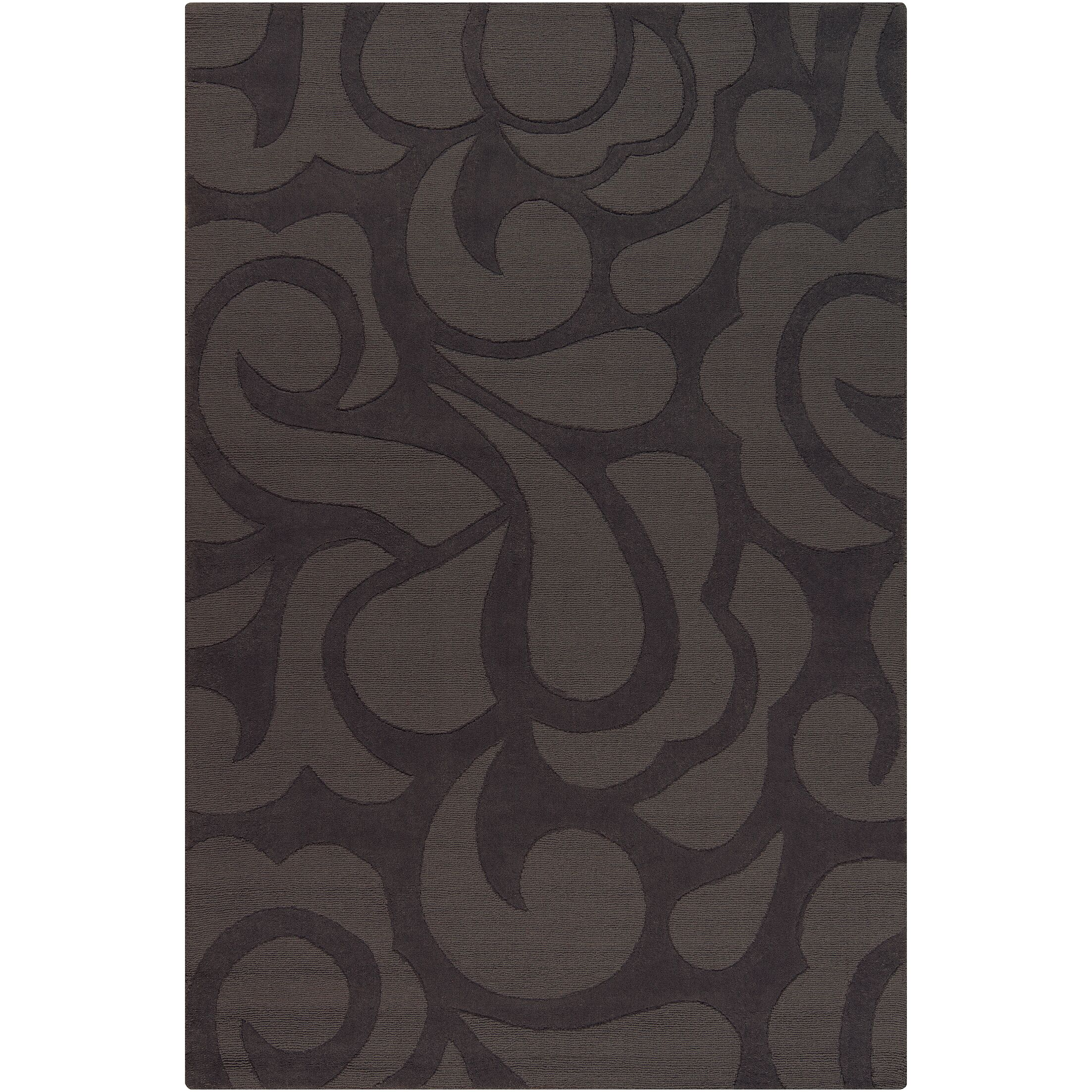 Stehle Grey Area Rug Rug Size: 5' x 7'6