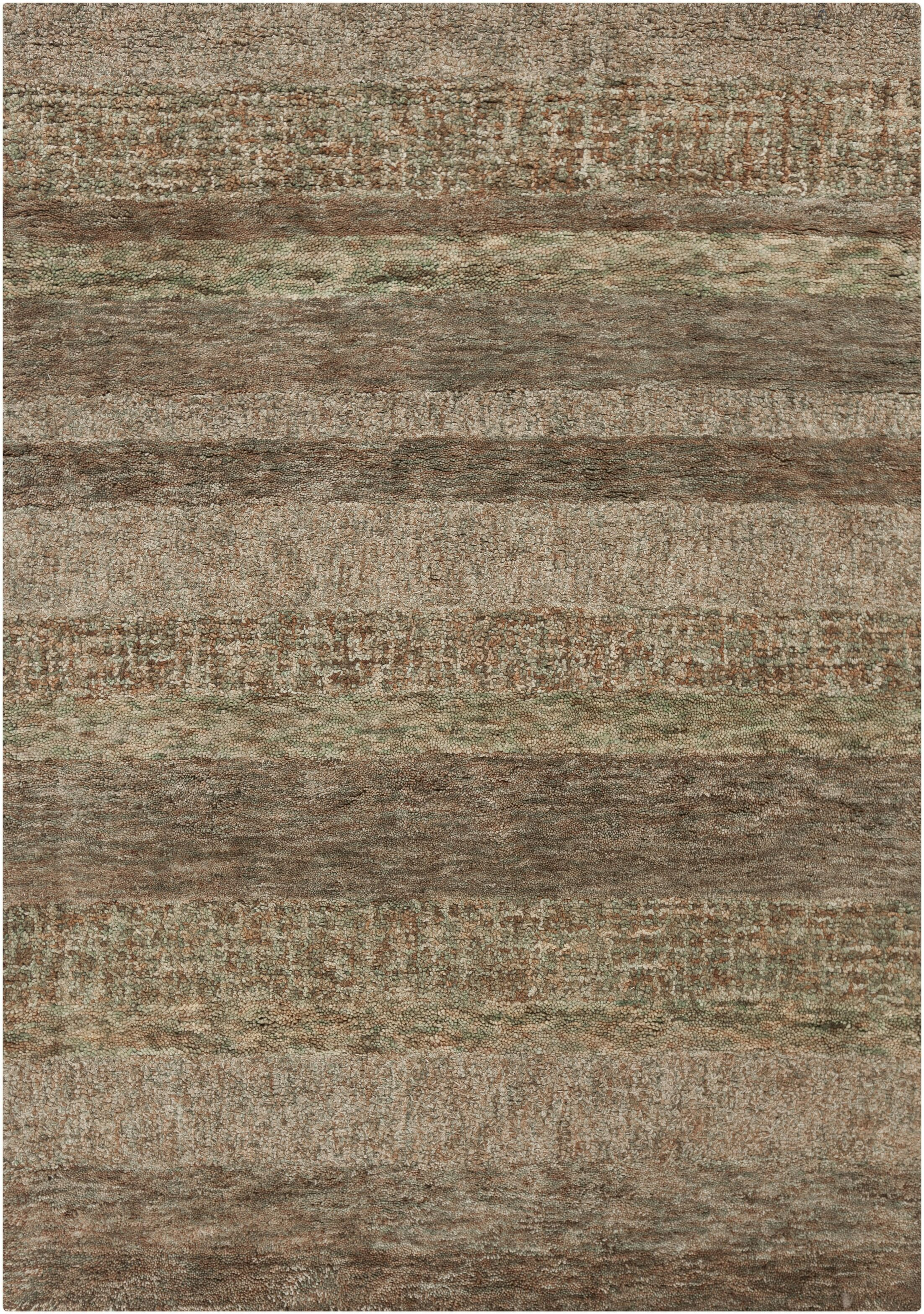 Carli Dark Brown Area Rug Rug Size: 7'9