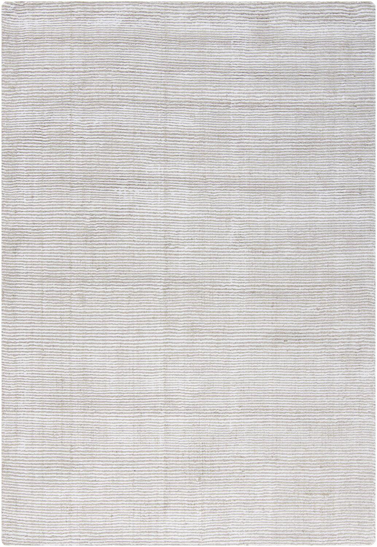 Yiwei White Area Rug Rug Size: 7' x 10'