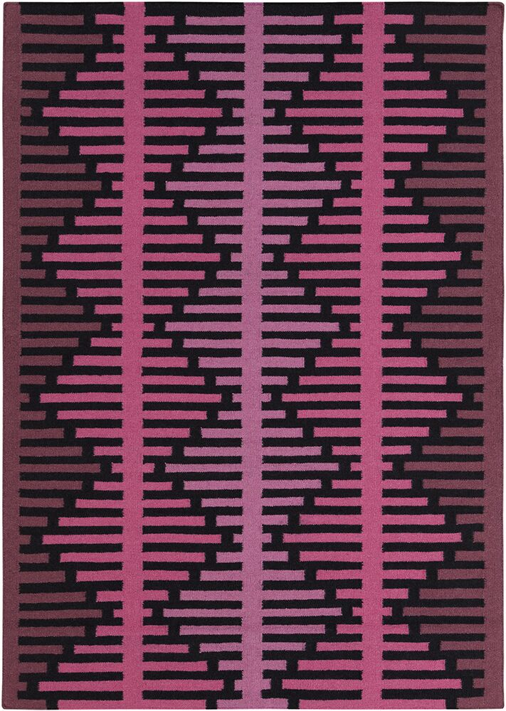 Haysville Pink Abstract Rug Rug Size: 7' x 10'