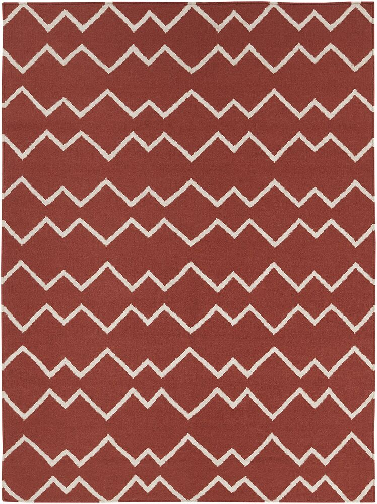 Jayson Red Rug Rug Size: 5' x 7'
