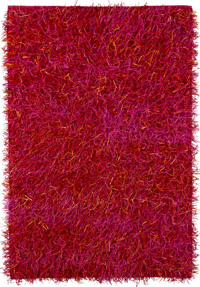 Phair Red Area Rug Rug Size: 5' x 7'