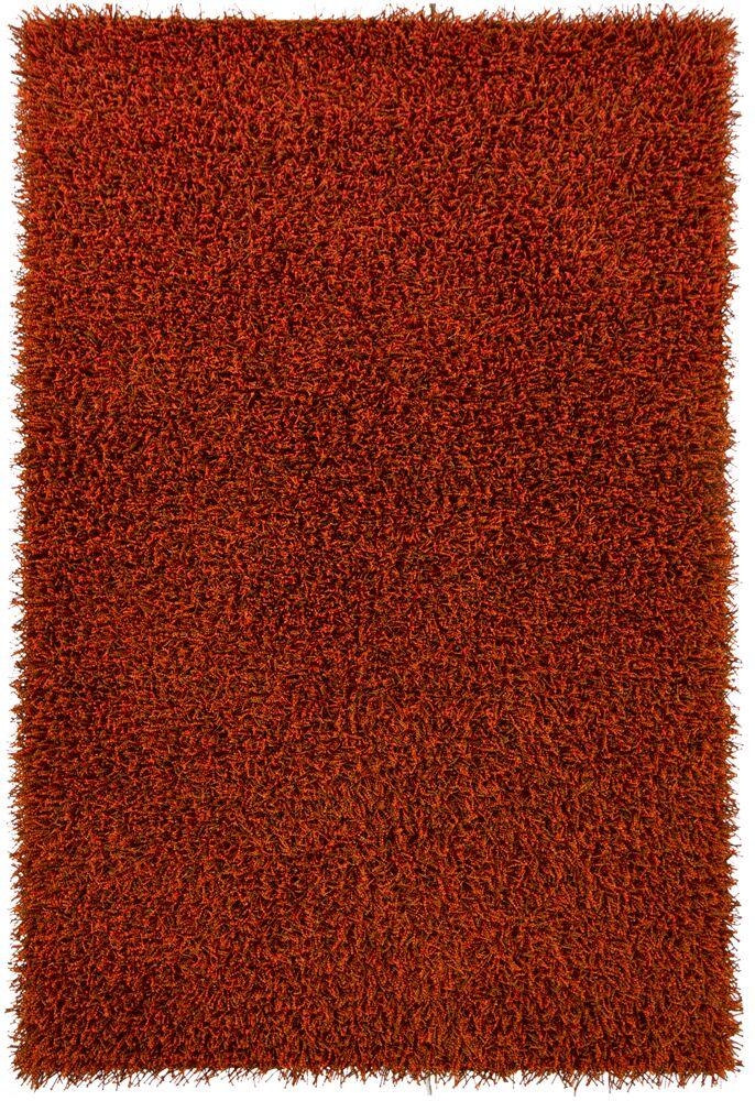 Yiwei Orange Area Rug Rug Size: 7'9