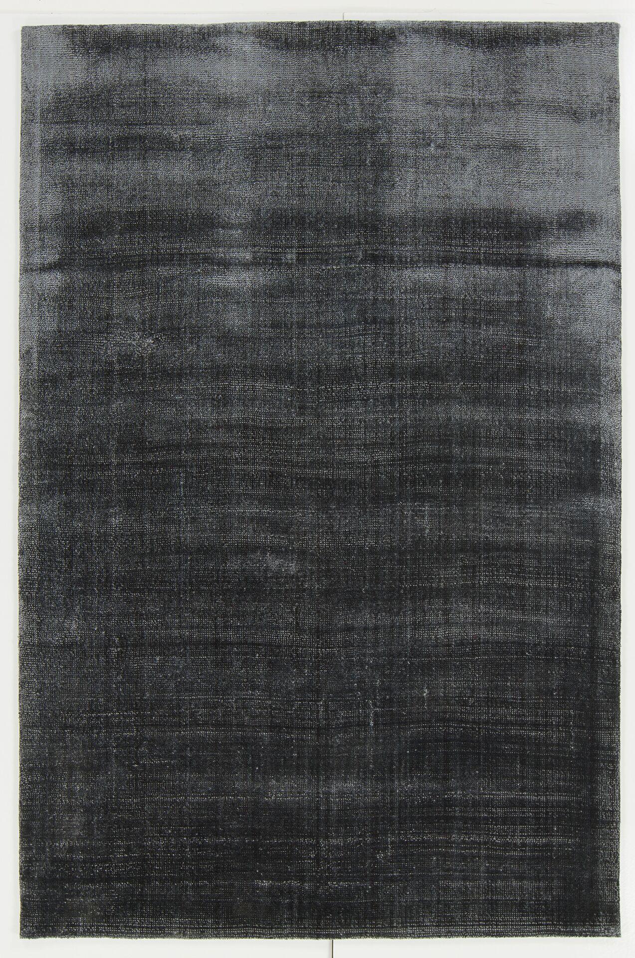 Leeson Black Area Rug Rug Size: 7'9