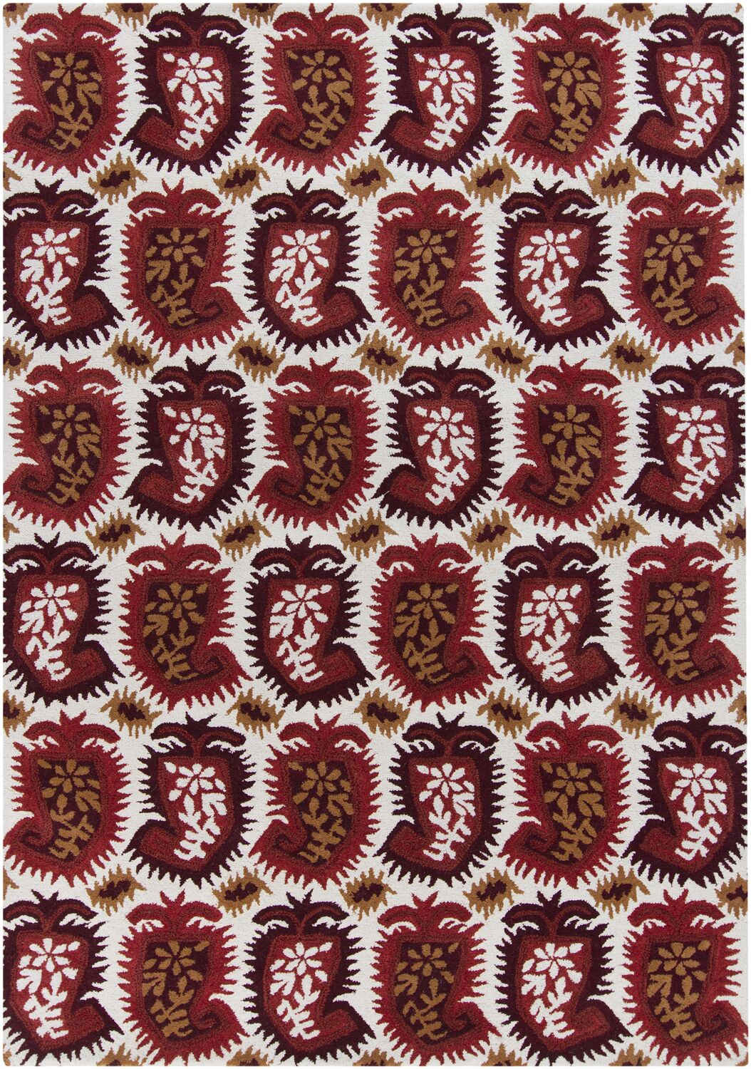 Cache Wool Abstract Rug Rug Size: 5' x 7'