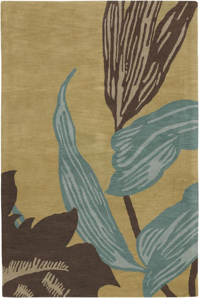 Steib Beige Area Rug Rug Size: 7'9