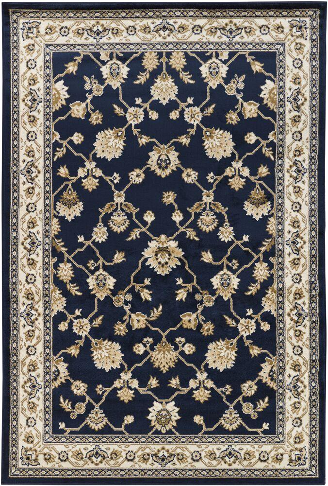 Collingdale Blue Area Rug Rug Size: 8' x 11'