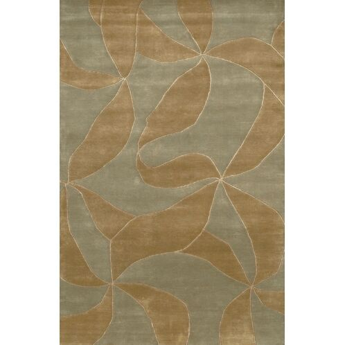 Caines Brown/Tan Area Rug Rug Size: Rectangle 2' x 3'