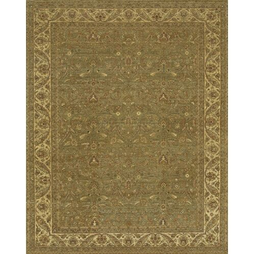 Freeland Green/Brown Area Rug Rug Size: 8' x 10'