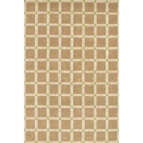 Lee-Abele Brown/Green Area Rug Rug Size: Rectangle 3'6