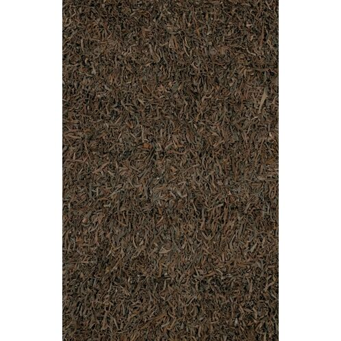 Jawawn Contemporary Brown/Tan Area Rug Rug Size: Rectangle 3'6