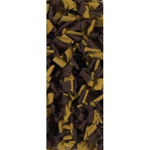 Leyva Brown/Yellow Area Rug Rug Size: Round 7'9