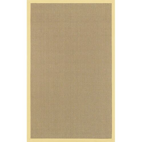Wroblewski Yellow/Tan Area Rug Rug Size: Square 8'