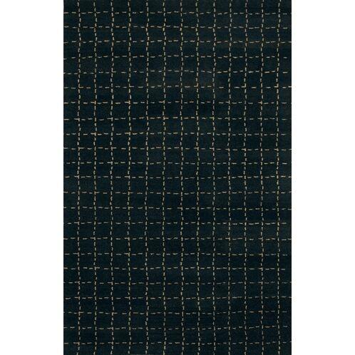 Gracen Black Area Rug Rug Size: Rectangle 7'9
