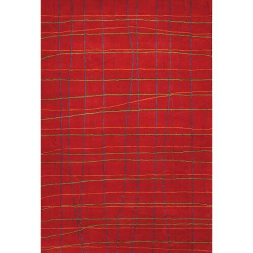 Steveson Hand Woven Geometric Rug Rug Size: Rectangle 7'9