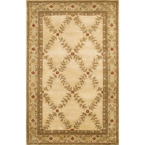 Kingsport Brown/Tan Area Rug Rug Size: Rectangle 5' x 7'6