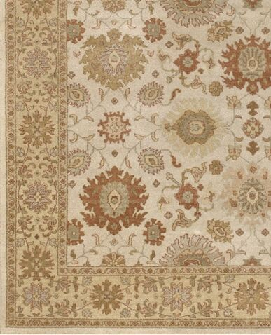 Zambrano Hand Knotted Wool Area Rug Rug Size: Rectangle 6' x 9'
