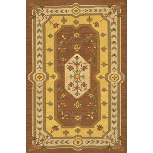 Cavisson Hand Woven Wool Rug Rug Size: 7'9