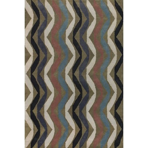 Aurigae Modern Wool Rug Rug Size: Runner 2'6